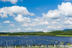 ソーラーパネルの写真素材 [FYI01627539]