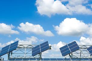 ソーラーパネルの写真素材 [FYI01627917]