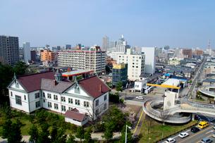 新潟市内の街並みの写真素材 [FYI01627923]
