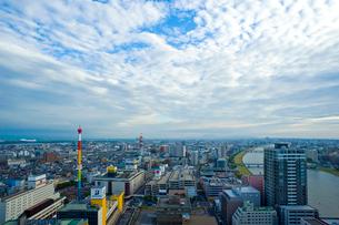 新潟市の街並みの写真素材 [FYI01627995]