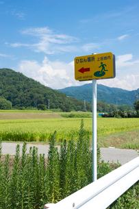 防災標識の写真素材 [FYI01628113]