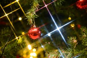 クリスマスツリーの飾りの写真素材 [FYI01628378]