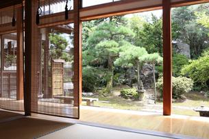 和室より庭園の写真素材 [FYI01628532]