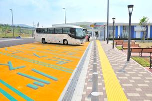 バス専用パーキングスペースの写真素材 [FYI01628860]