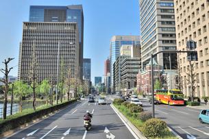 日比谷通り 大手町方面眺望の写真素材 [FYI01628888]