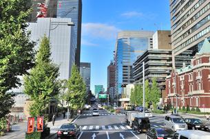 日比谷通り和田倉門交差点付近の写真素材 [FYI01628955]