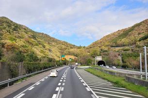 東名高速道路下り線宇利トンネルの写真素材 [FYI01629011]