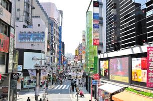 渋谷センター街(バスケットボールストリート)の写真素材 [FYI01629307]