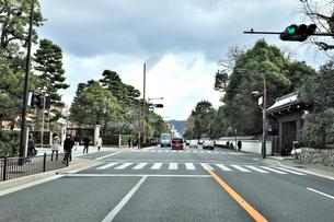 今出川御門交差点の写真素材 [FYI01629313]