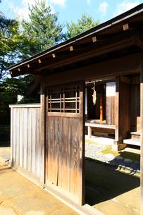 日本家屋の写真素材 [FYI01629393]