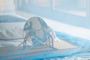 和室に蚊帳の写真素材 [FYI01629609]