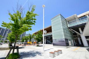 新潟駅南口広場の写真素材 [FYI01629661]