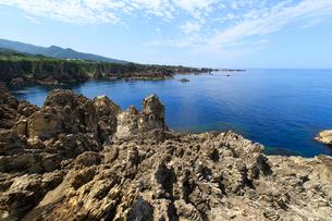 尖閣湾と日本海の写真素材 [FYI01629793]