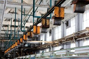 富岡製糸場の操糸場の写真素材 [FYI01629880]
