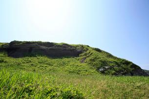 塩掛鼻とミオジプシナ石灰砂岩の写真素材 [FYI01630123]