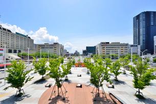 新潟駅南口周辺の写真素材 [FYI01630199]