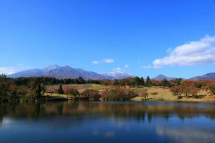 秋の妙高山の写真素材 [FYI01630204]