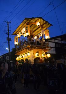 村上大祭のオシャギリの写真素材 [FYI01630267]