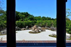 いくとぴあ食花の和みの庭の写真素材 [FYI01630482]