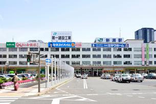 新潟駅万代口の写真素材 [FYI01630566]