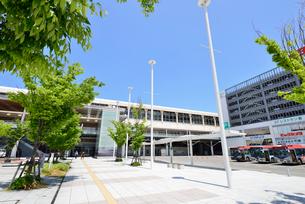 新潟駅南口広場の写真素材 [FYI01630708]