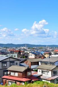 長岡市の家並みの写真素材 [FYI01630795]