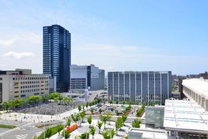 新潟駅南口周辺の写真素材 [FYI01630862]