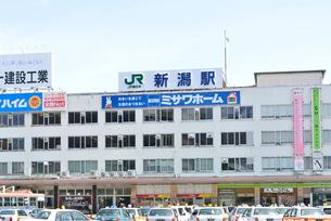 新潟駅万代口の写真素材 [FYI01631305]