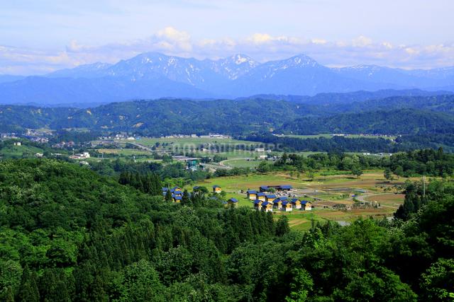 山本山より越後三山の写真素材 [FYI01631333]