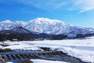 雪の守門岳の写真素材 [FYI01631479]