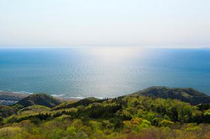 弥彦山より日本海の写真素材 [FYI01631550]