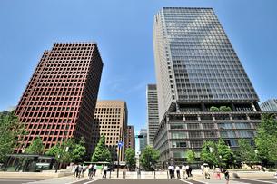 東京海上日動ビルと新丸の内ビルの写真素材 [FYI01631594]