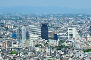 新宿から中野方面の展望の写真素材 [FYI01631604]
