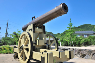 西洋式大砲(長州砲)の写真素材 [FYI01631637]