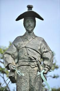 太田道灌公像の写真素材 [FYI01631698]