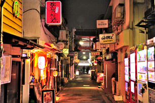 新宿ゴールデン街(G2通り)の写真素材 [FYI01631884]