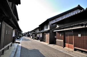 関宿の街並の写真素材 [FYI01631913]