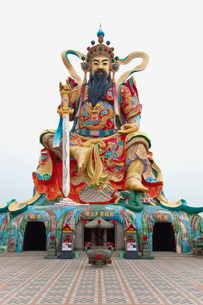 北極亭玄天上帝神像の写真素材 [FYI01632411]
