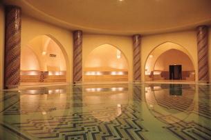 ハッサン2世モスクの写真素材 [FYI01632563]