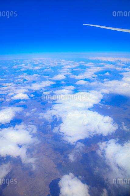 機中より雲の写真素材 [FYI01632683]