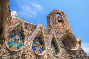 コロニアグエル教会の写真素材 [FYI01633062]