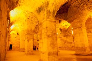 宮殿の地下,ディオクレティアヌス宮殿の写真素材 [FYI01633271]
