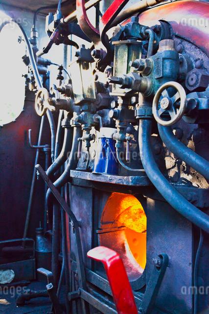 蒸気機関車の写真素材 [FYI01633277]