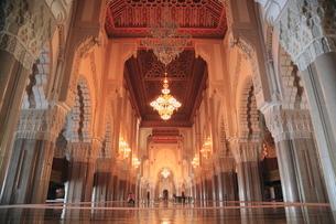 ハッサン2世モスクの写真素材 [FYI01633314]