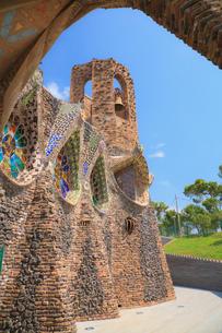 コロニアグエル教会の写真素材 [FYI01633411]