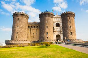 ヌオーヴォ城の写真素材 [FYI01633612]