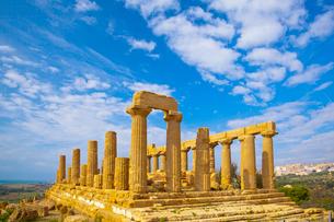 ジュノ―ネ・ラチニア神殿の写真素材 [FYI01633702]