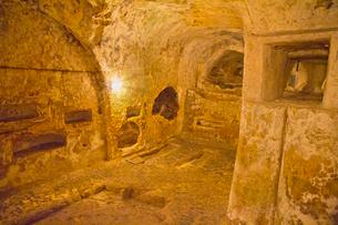 聖パウロの地下墓地の写真素材 [FYI01633712]