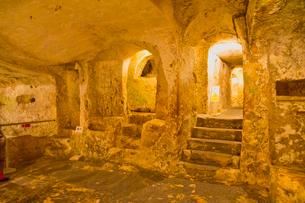 聖パウロの地下墓地の写真素材 [FYI01634086]