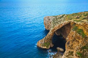 青の洞窟の写真素材 [FYI01634155]